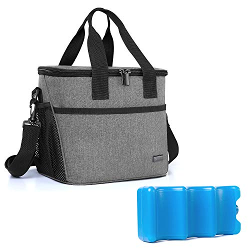 Deacroy Insulated Baby Bottle Tote Bags,Waterproof Breastmilk Cooler Storage Bags,Leak-Proof and Reusable with Shoulder Strap