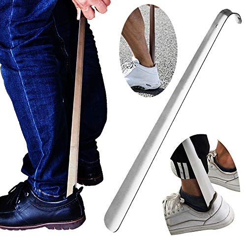 New  Shoe Horn Footmatters 24 inch Plastic Extra Large Shoehorn.